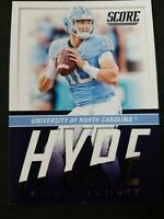 2017 Score Hype & Mitchell Trubisky RC Rookie Card CHICAGO BEARS