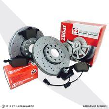 Zimmermann Sport Dischi Freno + Pastiglie AUDI SEAT SKODA VW anteriore