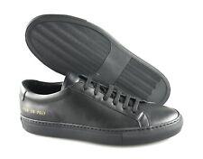 Men's Common Projects 'Original Achilles' Black Sneakers Size US- 6.5, 7  Eur 39