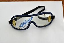 LAFFIT PINCAY JR SIGNED AUTHENTIC JOCKEY GOGGLES-BLUE