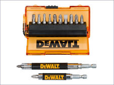 DEWALT DT71502-QZ SCREWDRIVER BIT SET 14 PIECES - HIGH QUALITY BITS - BIT HOLDER