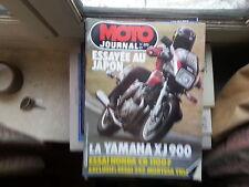 moto journal n595 10mar1983 essai yamaha xj900 hondacb1100f 242montesa trial