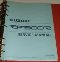 SUZUKI RF900R RF 900 900R Service Manual & Parts Guide 1994 1995 1996 1997