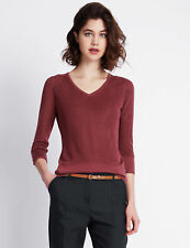 Per Una 3/4 Sleeve Jumpers & Cardigans Plus Size for Women