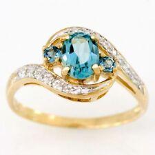 Green Diamond Yellow Gold Fine Rings