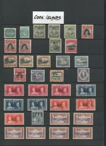 COOK ISLANDS COLLECTION ON 6 PAGES