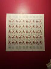 FRANCE FEUILLE SHEET AU PROFIT DE LA CROIX ROUGE N°1226x50 NEUF ** LUXE MNH 1959
