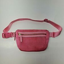 Vera Bradley Pink Nylon Fanny Bag Waist Pack Purse