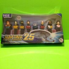 Star Trek The Next Generation 25th Anniversary Pez  Dispenser Collection