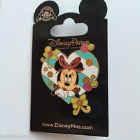 Minnie Mouse – Heart and Buttons Disney Pin 102846