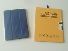 Ipad cover & glass screen protector set