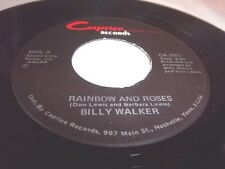 BILLY WALKER-RAINBOW AND ROSES/SWEET LOVIN' THINGS-CAPRICE CA 2057 NM 45