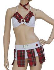 Corazones Damas Elegante Sexy Vestido Elaborado Disfraz para Mujer Niña Escolar UK 8-10