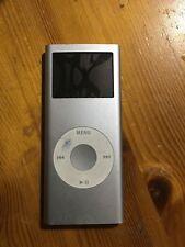 Genuine Original Apple iPod Nano 2nd Generation A1199 2Gb Silver FAULTY