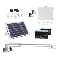 Automatic Single Arm Swing Gate Opener 300KG 50M Remote Solar Backup Battery