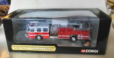 Corgi 54901 1/50 E-One 75ft Ladder Demo Colours DIECAST