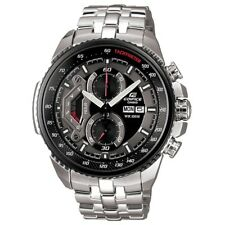 Casio EF-558D-1AVEF Mens Edifice Black Steel Chronograph Watch RRP £195