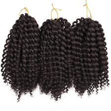 3 Bundles/pack Marlybob Kinky Curl (2#) 8'' Synthetic Crochet Braids Hair Extent