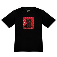 Black Ragdoll Tiffany Cat Kitten Hearts Love Men's Novelty T-Shirt