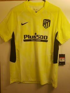 Men's Atletico Madrid 2020/21 Soccer Jersey. Vaporknit CK7650-703 NWT Size L