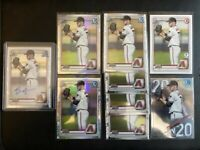 (23) 2020 Bowman Chrome Draft BRYCE JARVIS Lot Auto Refractor 1st Edition Paper