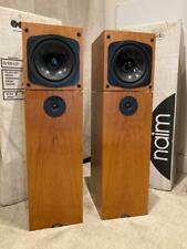 NAIM INTRO 2 II Speakers in Cherry Veneers BOXED Fully Working/Tested