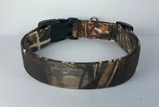 MAX 4 RealTree Duck Camo Terri's Dog Collar hand made adjustable hunting fabric