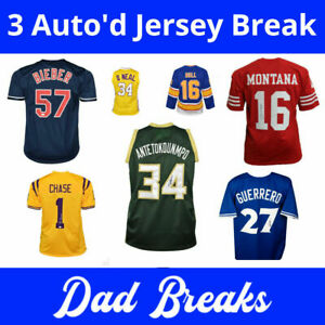 JERRY WEST LOS ANGELES LAKERS Autographed/Signed 3 Jersey Box BREAK + RAZZ! #1