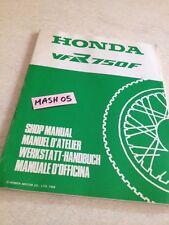 supplément manuel atelier Honda VFR750F VFR750 F VFR 750 Shop manual éd. 88