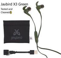 Jaybird X3 Wireless Headphones In-Ear Alpha Green Used Good👌