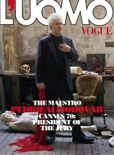 L`UOMO VOGUE - APRIL 2017 - PEDRO ALMODOVAR