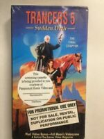 Trancers 5: Sudden Deth (VHS, 1994) The Finale Chapter