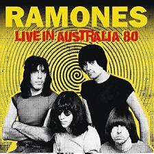 RAMONES - LIVE IN AUSTRALIA 80   CD NEUF
