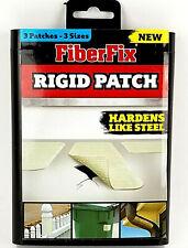 """FiberFix 39000 Series UV Rigid Patch 3 Pack - 2"""" x 8"""", 3"""" x 3"""", 5"""" x 5"""""""