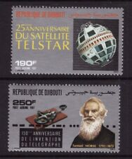 Djibouti MNH 1987 Telecommunications set mint stamps