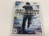 Call of Duty: World at War (Nintendo Wii, 2008) - Complete - FREE SHIP