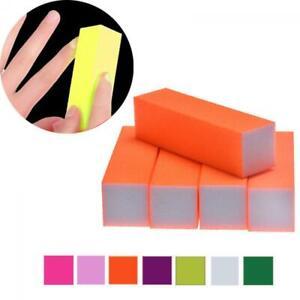 5Pcs Buffing Buffer Block Files Acrylic Pedicure Sanding Manicure Nail Art Tips