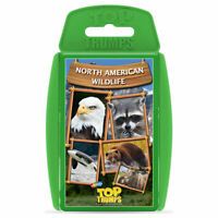Top Trumps Card Game North American Wildlife
