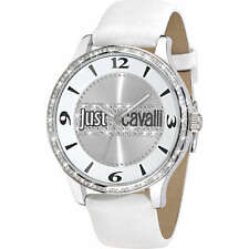 JUST CAVALLI orologio donna Huge cassa in acciaio grande da 46 mm con pietre