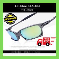 2020 X Squared Iridium Outdoor Sunglasses Ruby Polarized Lenses TITANIUM Goggles