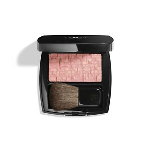 LES TISSAGES DE CHANEL 🌸Blush Duo Tweed Effect🌸 10 TWEED PINK 🌸 New with Box