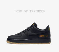 Nike Air Force 1 GORE-TEX Black Light Carbon Bright Men's Trainers All Sizes