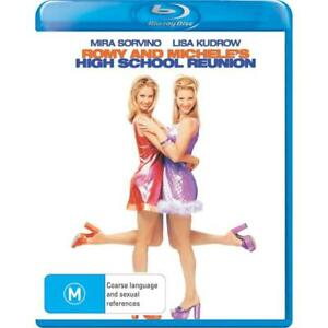 Romy And Michele's High School Reunion Blu Ray - New & Sealed