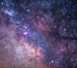 Stars Space Galaxy - Solar System Milky Way Large Canvas Picture Print 20x30Inch