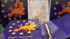 ALBUM PER MONETE EURO COMPLETO FOGLI E CUSTODIA COLLECTION Art.91 MASTERPHIL