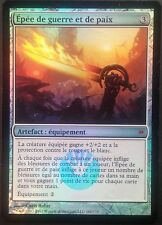 Epée de guerre et de paix PREMIUM/FOIL VF - French Sword of war and peace - Mtg