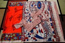 Orange Silk Kalamkari Saree, Indian Ethnic Saree, Traditional Silk Saree,