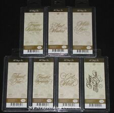 Couture Creations 'HOT FOIL STAMP DIE' (You Choose design) Anna Griffin GoPress