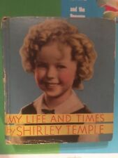 MY LIFE & TIMES SHIRLY TEMPLE  HARDCOVER Saalfield not on SPINE Big Little Book