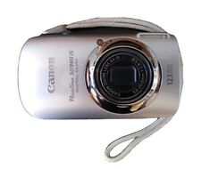 Canon PowerShot Elph SD960 IS 12.1 MP Camera - SILVER